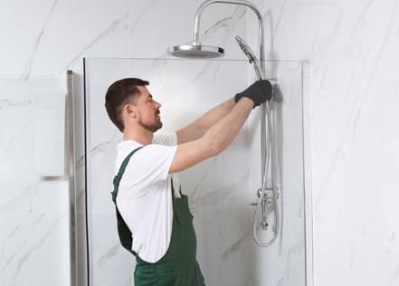 Installer une douche XXL